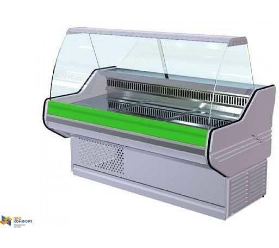 Холодильная витрина АРИАДА Белинда BС 2-110 с полкой