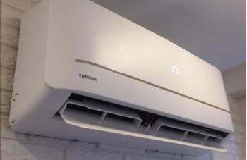 Установка сплит-системы Toshiba RAS-09U2KH2S/RAS-09U2AH2S-EE